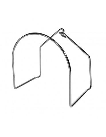 Metal Hose Rack for Central Vacuum Hose - Large